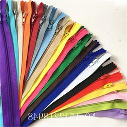 10pcs <font><b>3</b></font> Inch-24 inch  Nylon Coil Zippers