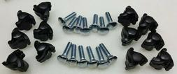 12 Replacement Thumb Screws Bolts Nuts Pet Carrier Crate Ken