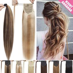 14 24 inch thick ponytail clip in