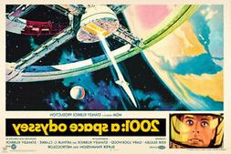 2001 A Space Odyssey Movie Poster 36x24 inch