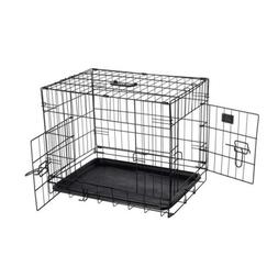 Pet Trex 2190 ABS 24 Inch Dog Crate Folding Kennel for Dogs,