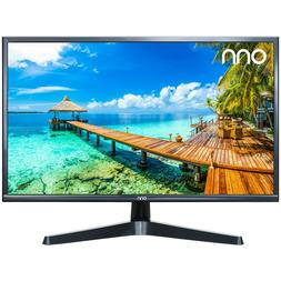ONN 24 inch Computer Monitor Full HD LED Slim Design HDMI an