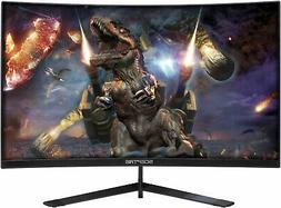 Sceptre 24-Inch Curved 144Hz Gaming LED Monitor Frame-Less F