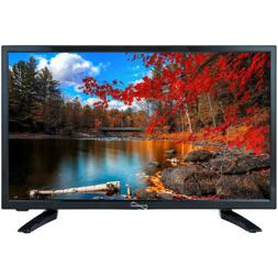 Supersonic 24 Inch LED HDTV with HDMI,VGA,USB input,AC/DC Co