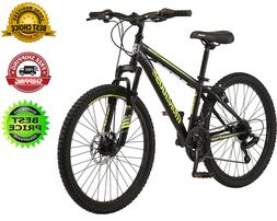 24-inch wheel Excursion Mountain Bike, 21 Speeds and front s