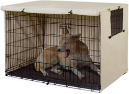 Explore Land 24 inches Dog Crate Cover - Durable Polyester P