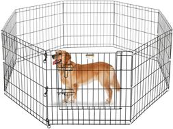 "Pet Trex 24"" Playpen for Dogs Eight 24"" Wide x 24"" High Pane"