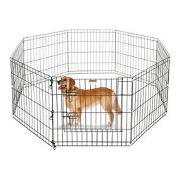 Pet Supplies For Dogs Gates Extra Wide Kennel Tall Outdoor I