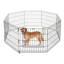 24 playpen for small pets dogs eight