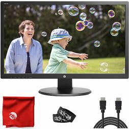 """HP 24"""" TN LCD LED Backlit 1080p FHD Monitor 24UH 5ms 60Hz 19"""