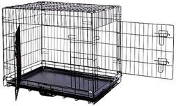 MDOG2 30 by 21 by 24-Inch Folding Double-Door Metal Dog Crat