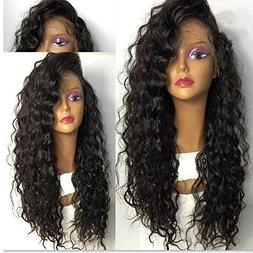 Trebellar 360 Lace Wig Human Hair Curly for Black Women Braz