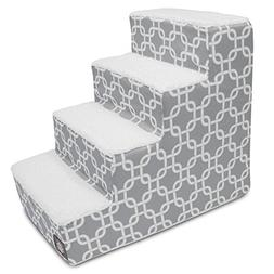 4 portable stairs gray links