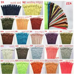 5pcs nylon coil zippers tailor sewer craft