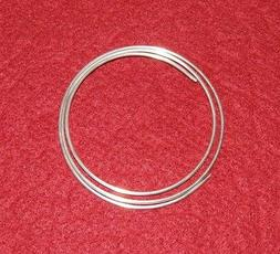 9999 Pure Silver Wire12 gauge - 24 inch  coil, 99.99% Best f
