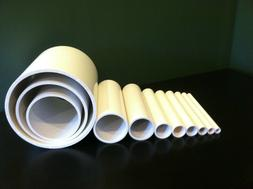 any size diameter pvc pipe sch 40