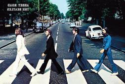 The Beatles Abbey Road Poster Print 24X36 Rock Music John Le