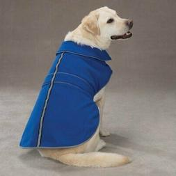 Casual Canine Blue Polyester Thermal Fleece Dog Jacket, XX-L