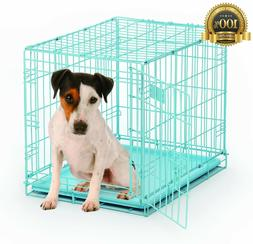 BRAD-568642-MidWest iCrate Folding Metal Dog Crate