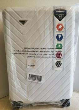 Brand New CIAO Hardside Spinner Suitcase 24 Inches WHITE