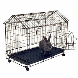 Bunny Kennel Rabbit House Cage Indoor Small Animal Pet Guine