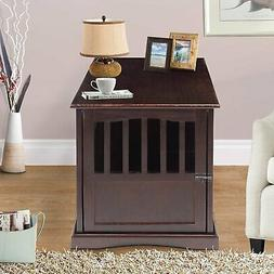 Casual Home 600-44 End Table, 24-Inch Pet Crate, H-M, Espres