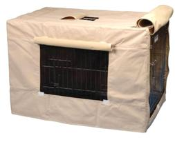 Crate Cover for Dogs Cats & Pets Indoor/Outdoor - 5 sizes He