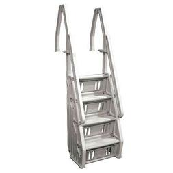 Vinyl Works Deluxe Above Ground In-Pool Step Ladder - 24 Inc