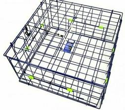 Danielson Deluxe Folding Crab Trap - 24 Inch - Blue