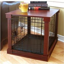 Deluxe Pet Crate in Brown Size: Small