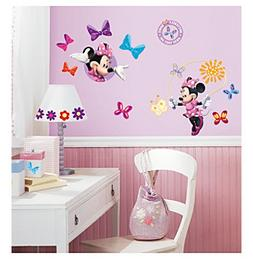 """RoomMates Disney® Mickey and Friends """"Minnie BowTique"""" P"""