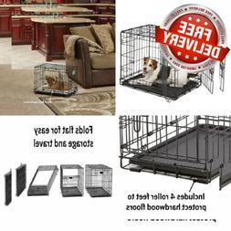 MidWest Homes for Pets Dog Crate | iCrate Single Door & 24-I