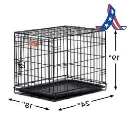 dog crate icrate single door double door