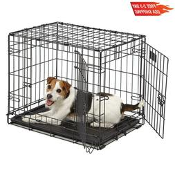 Midwest Homes For Pets Dog Crate | Icrate Single Door  Doubl