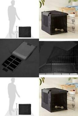 Dog Metal CRATE COVER, 24-Inch Added Security, Privacy & Com