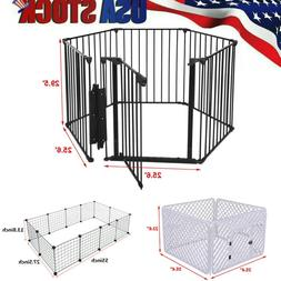 Dog Wire Playpen Exercise Fence Outdoor Pet Play Pen for Dog