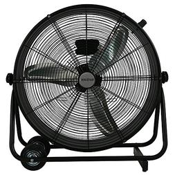 Hurricane Drum Fan - 24 Inch | Pro Series | High Velocity |