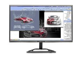 "Sceptre E E248W-1920R 24"" Ultra Thin LED Monitor HDMI Metall"
