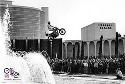 Evel Knievel- Caesars Palace Jump 50Th Anniversary Poster Pr