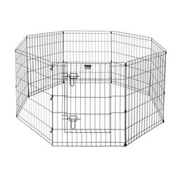 "Pet Trex Premium Quality 30"" Exercise Playpen for Dogs Eight"