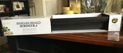 Gallery Solutions Pinnacle 24 inch Decorative Ledge Black
