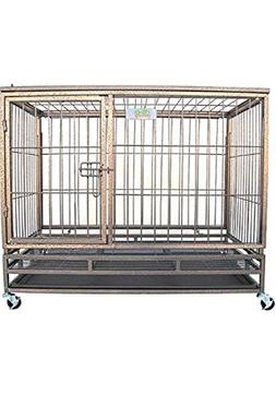 "Go Pet Club Heavy Duty Metal Cage, 24""W x 28.75""H x 36.8""L"