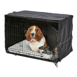 MidWest Homes for Pets Dog Crate Starter Kit | One 2-Door iC