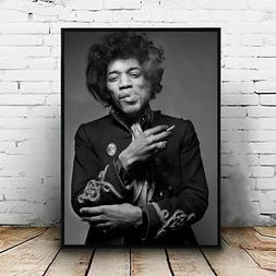 Jimi Hendrix Posters Prints Canvas, Singer Print, Rock Music