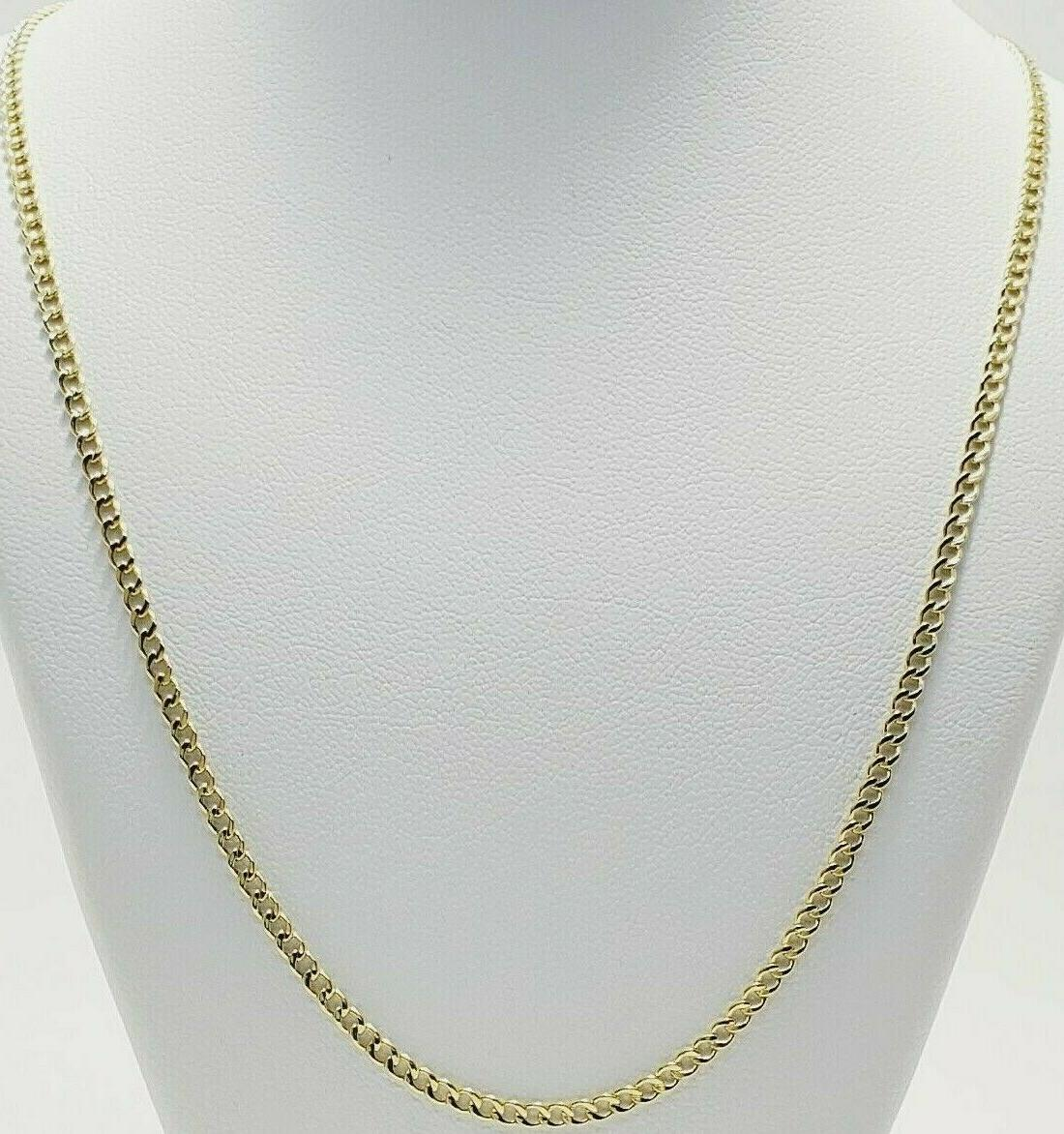"""10K Yellow Gold Necklace 16"""" 20"""" 22"""""""