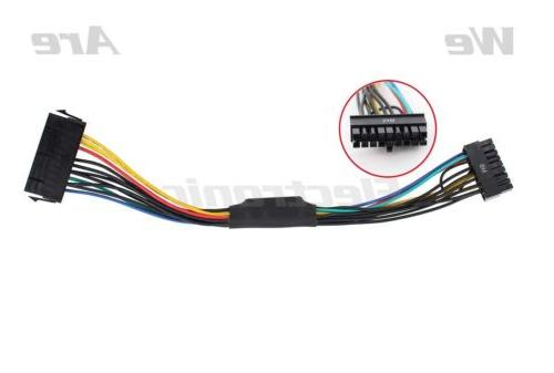 11 inch 24-Pin to 18-Pin ATX Power Supply Adapter Cable for