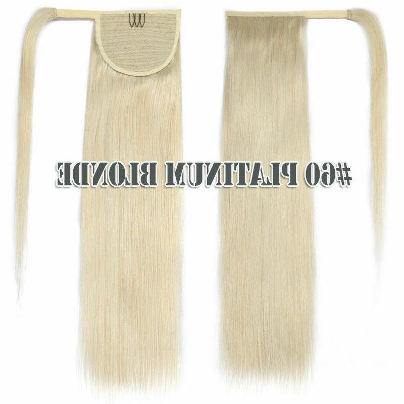 Clip In Human Hair Extensions Hairpiece