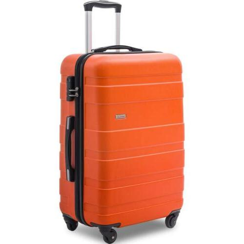 Merax Luggage inch Spinner Travel