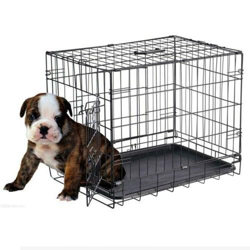 Pet 2190 ABS 24 Inch Folding Kennel Dogs, Cats