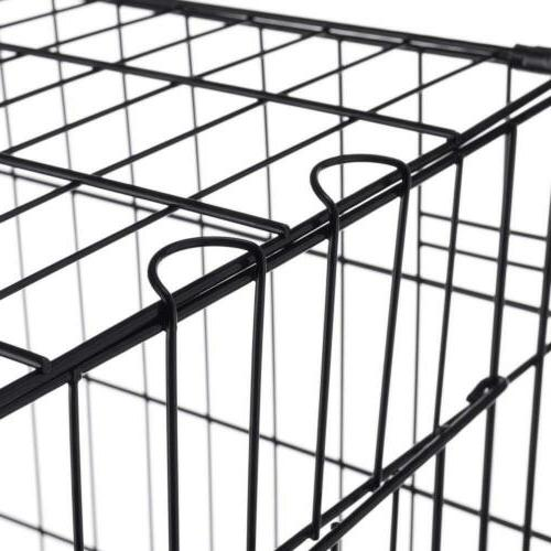 Pet Trex ABS 24 Dog Crate Folding Kennel Cats